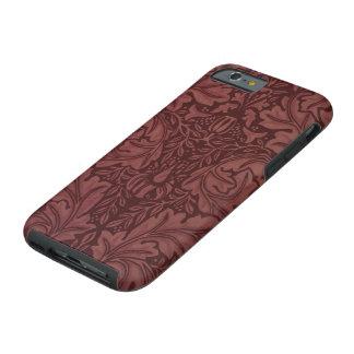 Acanthus by William Morris, Vintage Floral Textile Tough iPhone 6 Case