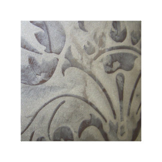 "Acanthus in Suede CS 12"" x 12"", 1.5"", Single Canvas Print"