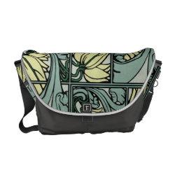 acanthus leaf vintage rickshaw bag