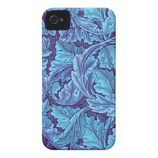 """Acanthus """"True Blue"""" iPhone 4 Case"""