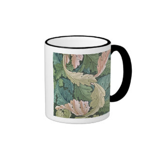 'Acanthus' wallpaper design, 1875 Ringer Coffee Mug