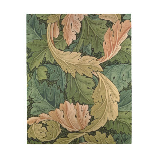 'Acanthus' wallpaper design, 1875 Wood Canvases