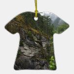 Acantilado de la cascada ornamento para reyes magos