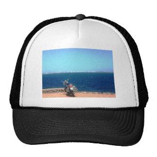 Acantilado de la motocicleta gorras