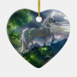 Acantilado del unicornio adorno de reyes