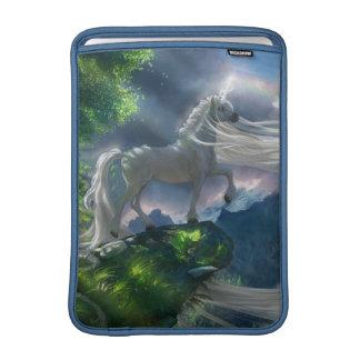 Acantilado del unicornio funda para macbook air