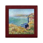 Acantilado en Grainval de Claude Monet Cajas De Joyas