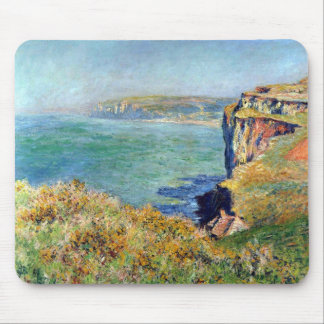Acantilado en Grainval de Claude Monet Tapete De Raton