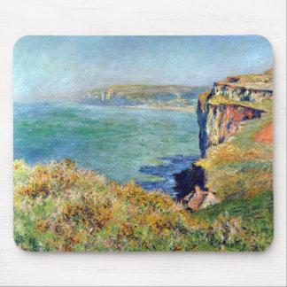 Acantilado en Grainval de Claude Monet Alfombrillas De Raton