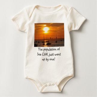 Acantilado NY del mar Body Para Bebé