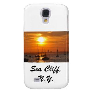 Acantilado NY del mar Funda Para Galaxy S4