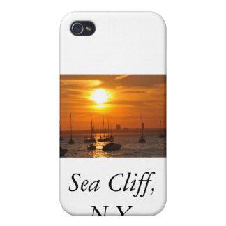 Acantilado NY del mar iPhone 4/4S Fundas