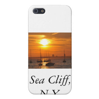 Acantilado NY del mar iPhone 5 Cárcasa
