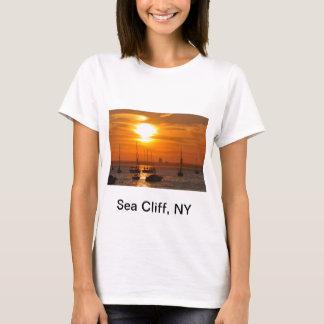 Acantilado NY del mar Playera
