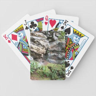 Acantilado rocoso cartas de juego