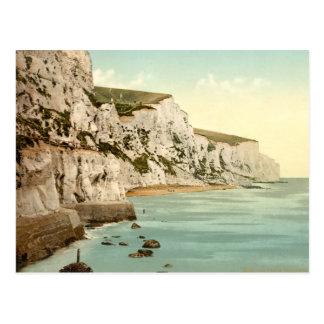 Acantilados blancos de Dover, Kent, Inglaterra Tarjeta Postal