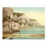 Acantilados blancos de Dover, Kent, Inglaterra Postal