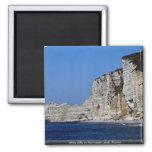 Acantilados blancos en la costa de Normandía, Fran Imanes De Nevera