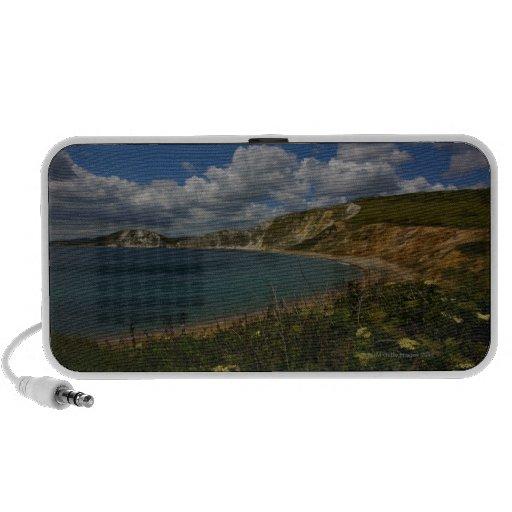 Acantilados costeros y paisaje iPhone altavoz