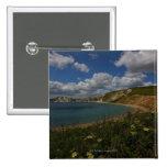 Acantilados costeros y paisaje pin cuadrado