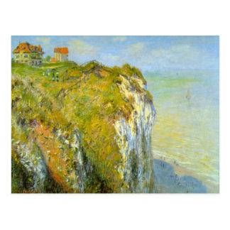 Acantilados de Claude Monet Postales