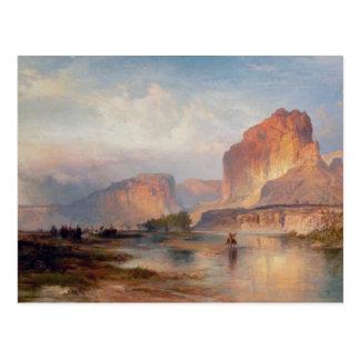 Acantilados de Green River - 1874 Postal