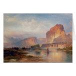 Acantilados de Green River - 1874 Tarjeton