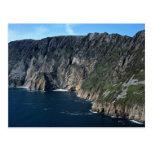 Acantilados de la liga de Slieve, condado Donegal, Tarjetas Postales