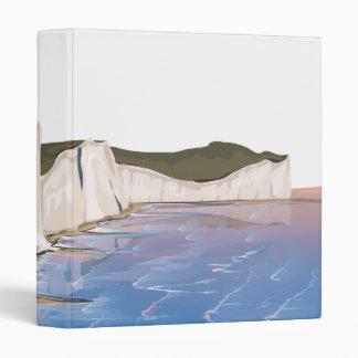 """Acantilados de la puesta del sol por el océano carpeta 1"""""""