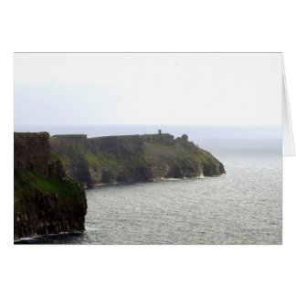 Acantilados de Moher, Clare, Irlanda Notecard Tarjeton
