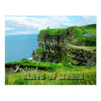 Acantilados de Moher, condado Clare, Irlanda Postal