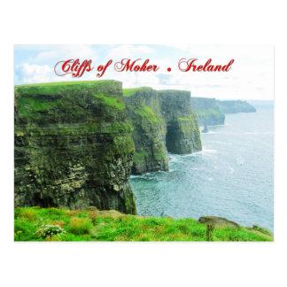Acantilados de Moher, condado Clare, Irlanda Tarjeta Postal