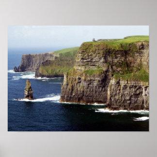 Acantilados de Moher Irlanda Posters