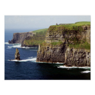 Acantilados de Moher Irlanda Póster