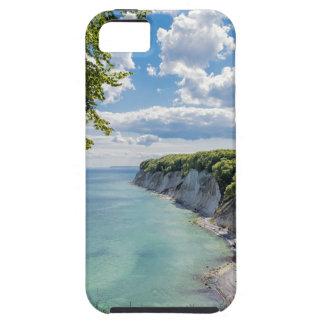 Acantilados de tiza en la isla Ruegen en Alemania iPhone 5 Case-Mate Protectores