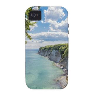 Acantilados de tiza en la isla Ruegen en Alemania iPhone 4 Funda