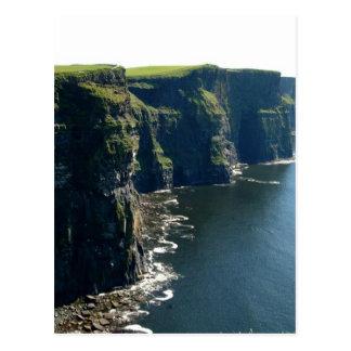 Acantilados del condado Clare Irlanda de Moher Tarjetas Postales