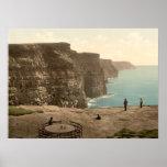 Acantilados en Moher, condado Clare Posters
