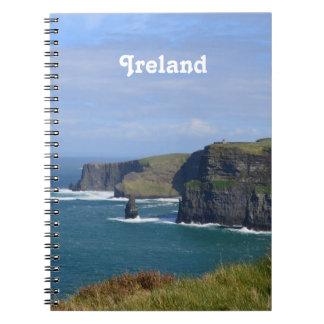 Acantilados imponentes de Moher Spiral Notebook