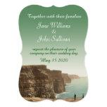 Acantilados irlandeses de las invitaciones del invitación 12,7 x 17,8 cm