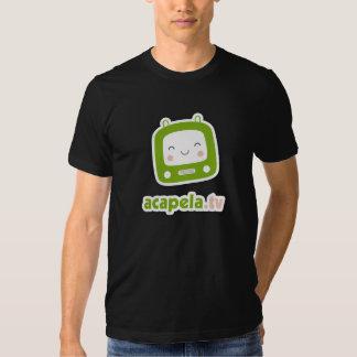 acapela.tv black tshirt