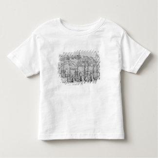 Acapulco', from Jean-Baptiste Labat 's Nouveau Toddler T-shirt
