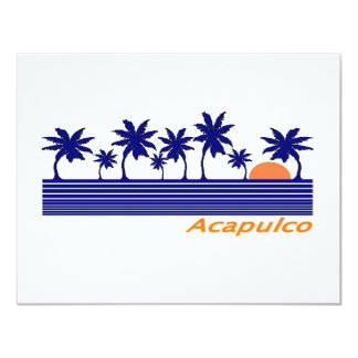 Acapulco, Mexico Card