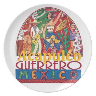 ACAPULCO Mexico Plate