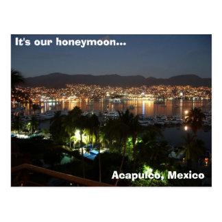 Acapulco, Mexico Post Card