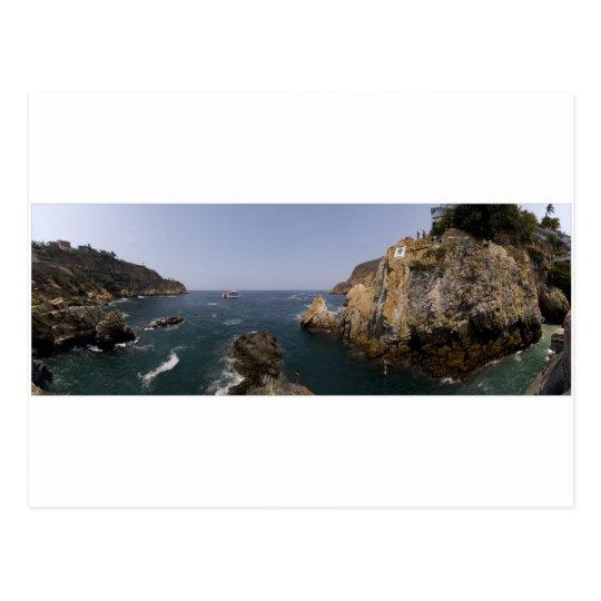Acapulco panorama 8 postcard