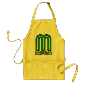Acapulco Piped Aprons