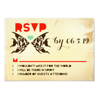 ACAPULCO RSVP with Fish Card