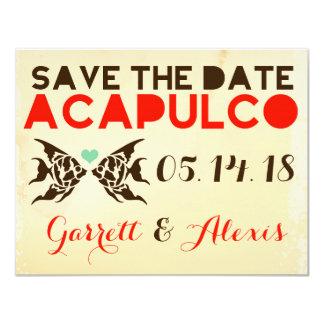 ACAPULCO Save the Date Destination Card