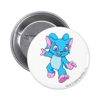Acara Blue 2 Inch Round Button